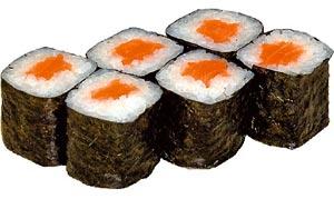 Саке Маки с лососем